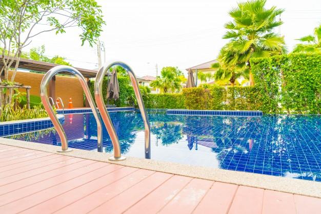Tener una piscina en casa está de moda