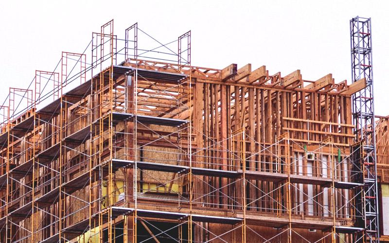 El sector de la construcción crece a un buen ritmo.