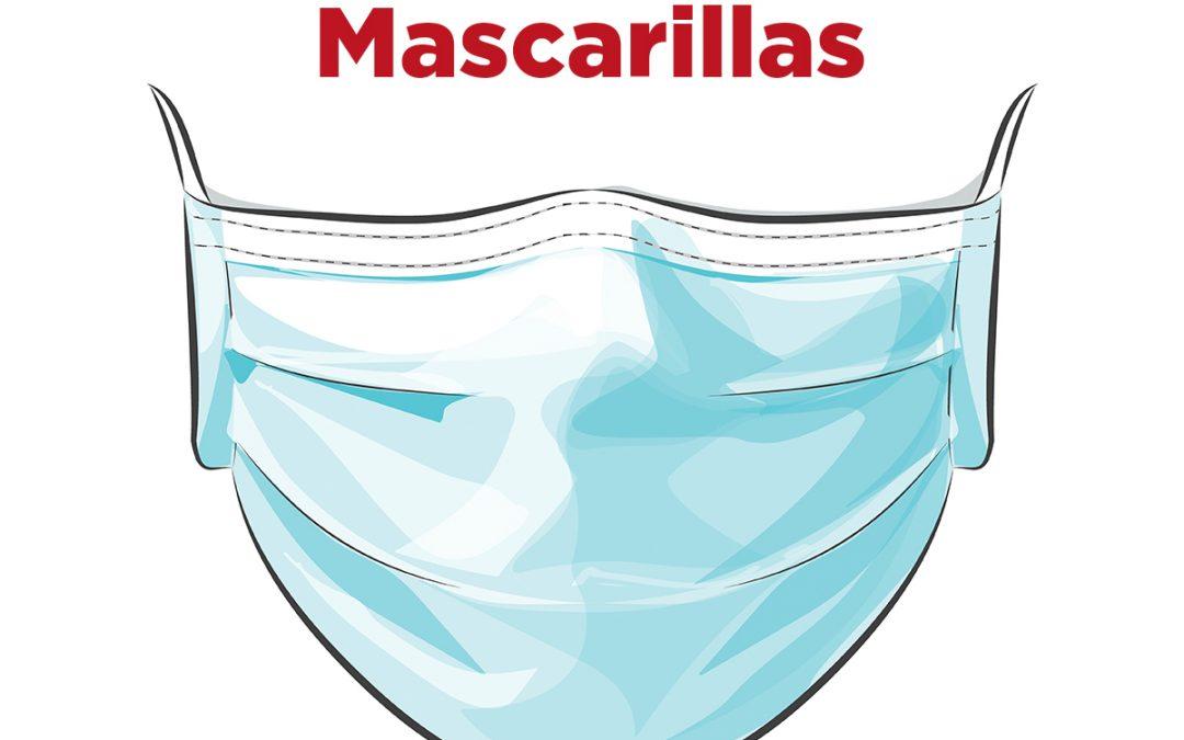 Disponemos de mascarillas higiénicas.